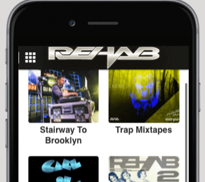 Download the DJ Rehab Music App today for FREE!