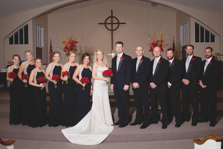 Chris and Jenna Naylor Wedding