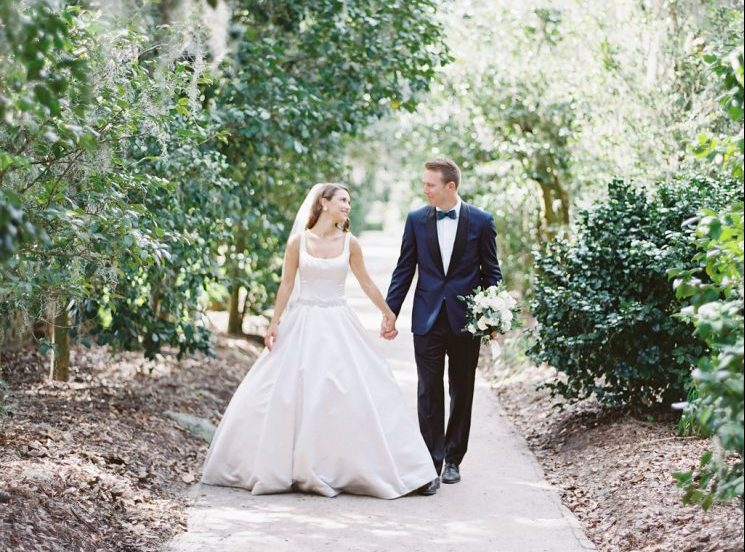 Byron and Brittney Neal at Middleton Place